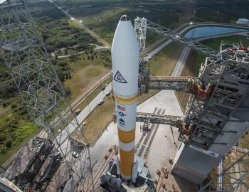 Atlas V rocket at Kennedy Space Center
