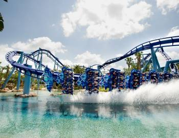 Manta Roller Coaster SeaWorld Orlando