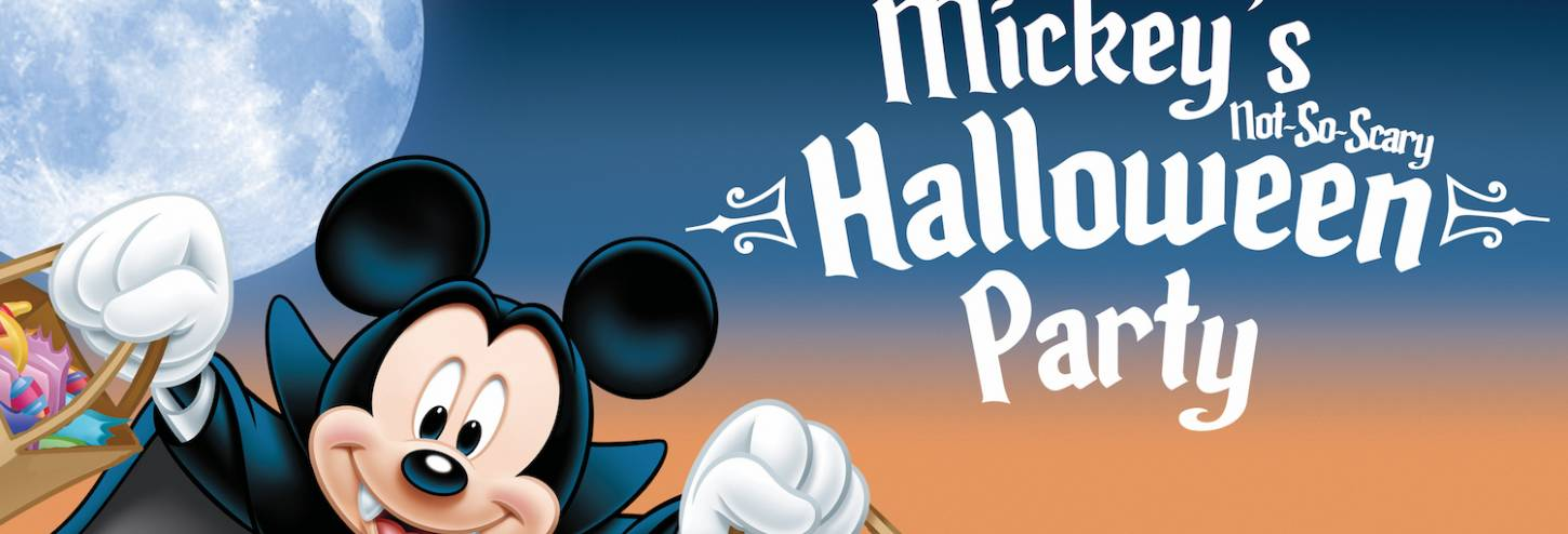 Halloween at Walt Disney World - Mickey's Not-So-Scary Halloween Party