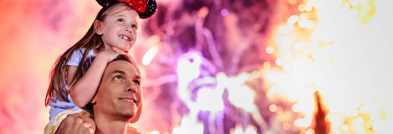 Magic Kingdom - Celebrate America Fireworks Show