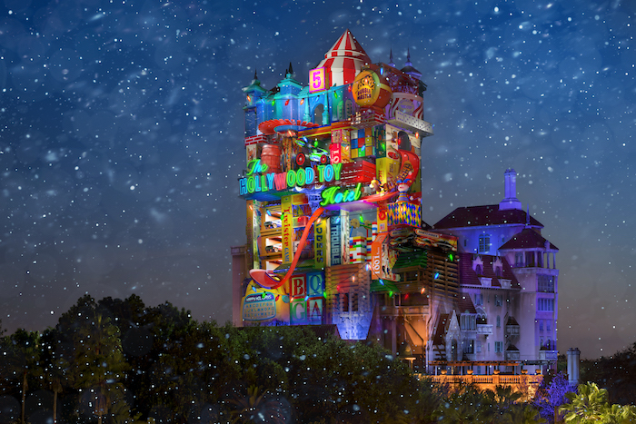 Toy Story Holiday Tower