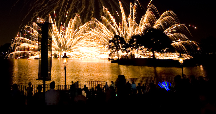 Epcot Illuminations - 4th of July Fireworks